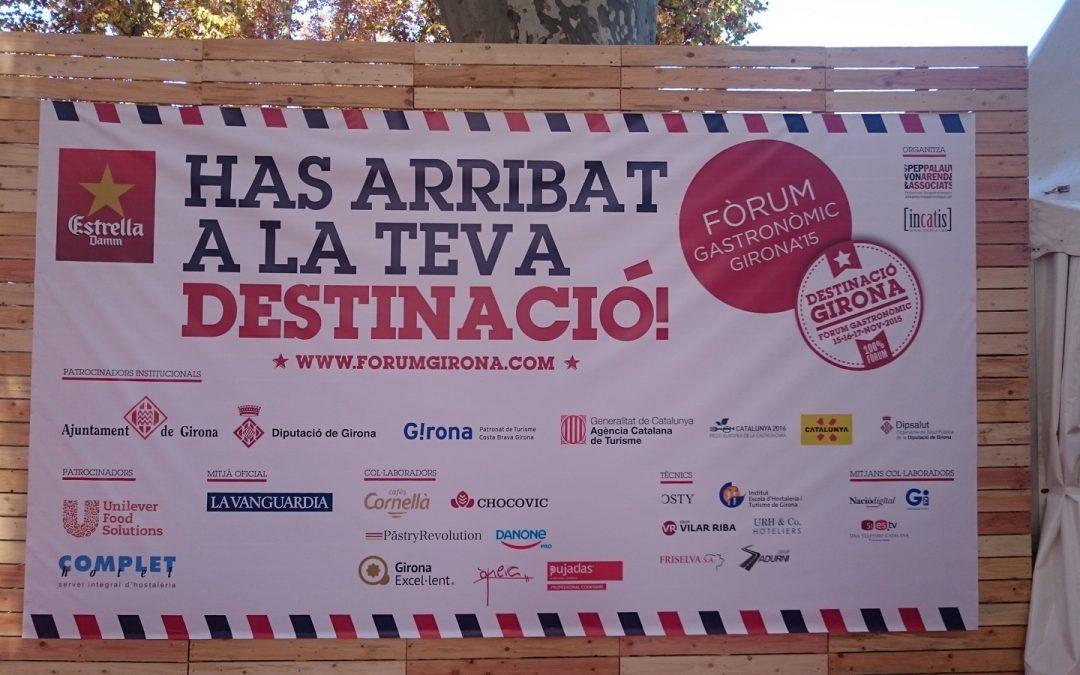 Fórum Gastronómico Girona 2015