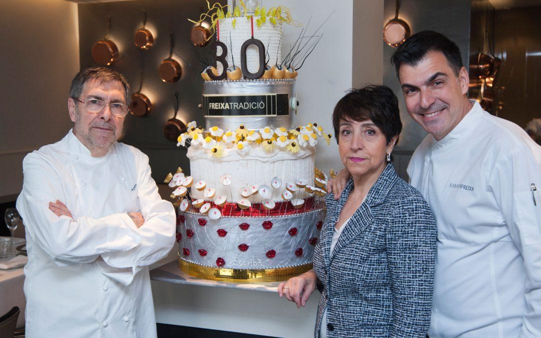 Josep Maria Freixa, Dori Riera y Ramón Freixa