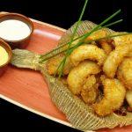 lomos de rodaballo frito (Kurai)