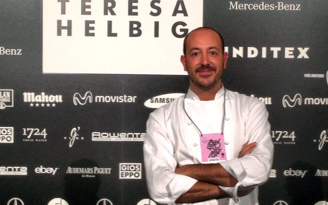Teresa Helbig y Josep Armenteros
