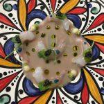 Quisquilla al natural, fondo de anchoa y caviar (Noor)
