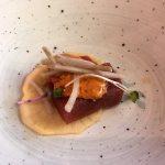 Sashimi de chutoro de atún (Topik)