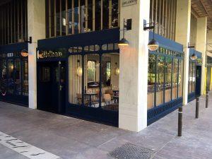 El Cinco restaurante (exterior)