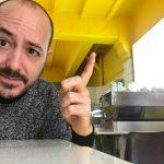 Josep Armenteros en Cafetería Industrial