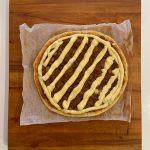 Base rellena apple cream pie