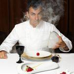 Ramon Freixa y postre Dior Poison