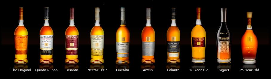 Whiskies Glenmorangie